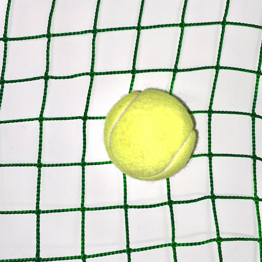 野球目にはテニスでも使えます!工事部が専門的に作る防球ネットは耐久性がとても強いです!