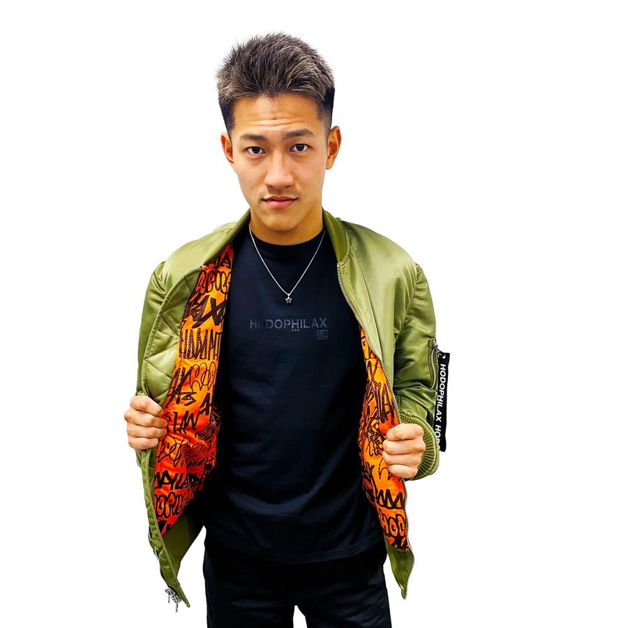 着用モデル:REBERLS・NOCK OUT龍聖選手(173cm 57.5kg)