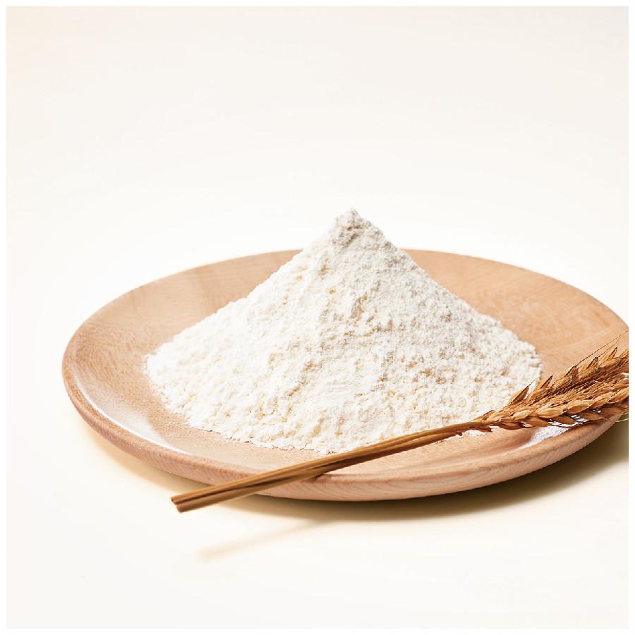 小麦の中心部分27%だけを使った、口当たりの良い「特等粉」。