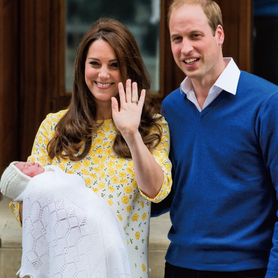 第二子シャーロット王女誕生の際