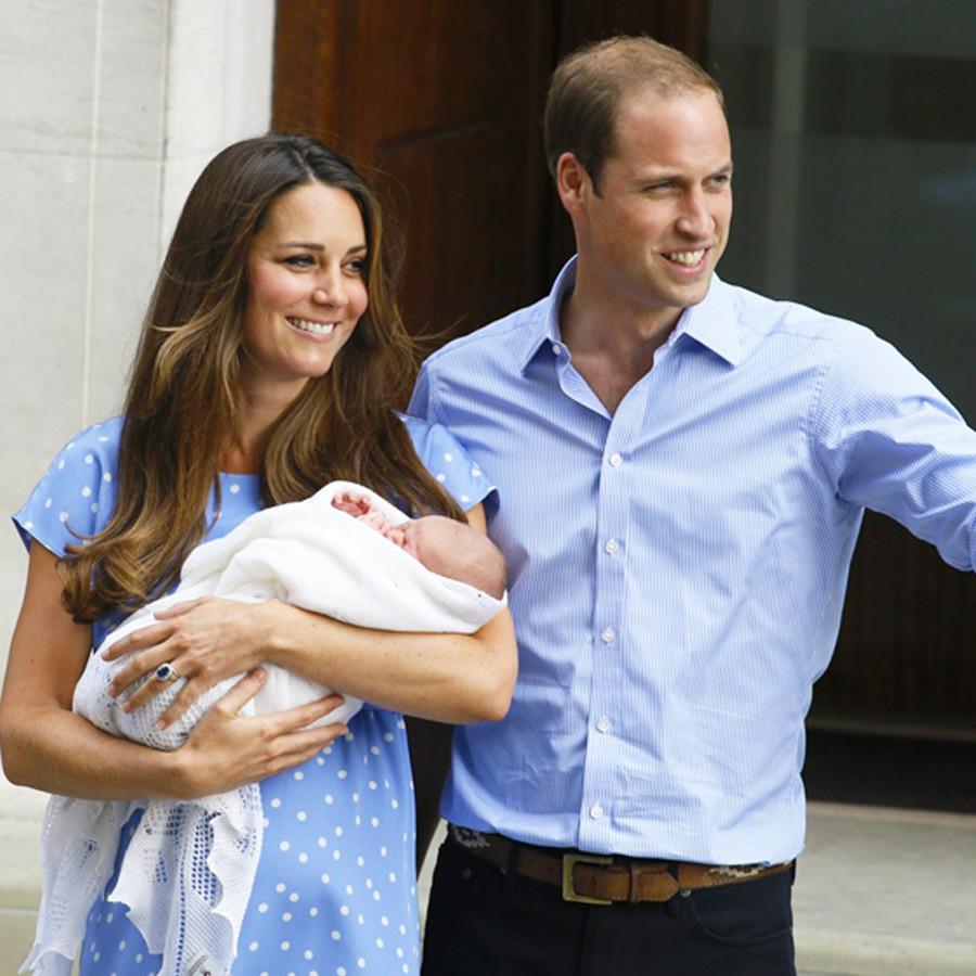 第一子ジョージ王子誕生の際