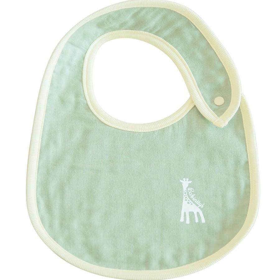 ダブルガーゼのスタイ 赤ちゃんのほっぺに優しい日本製