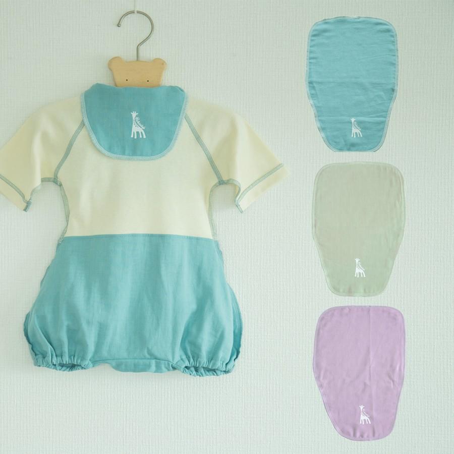 ダブルガーゼの汗取りパッド 赤ちゃんの肌に優しい日本製