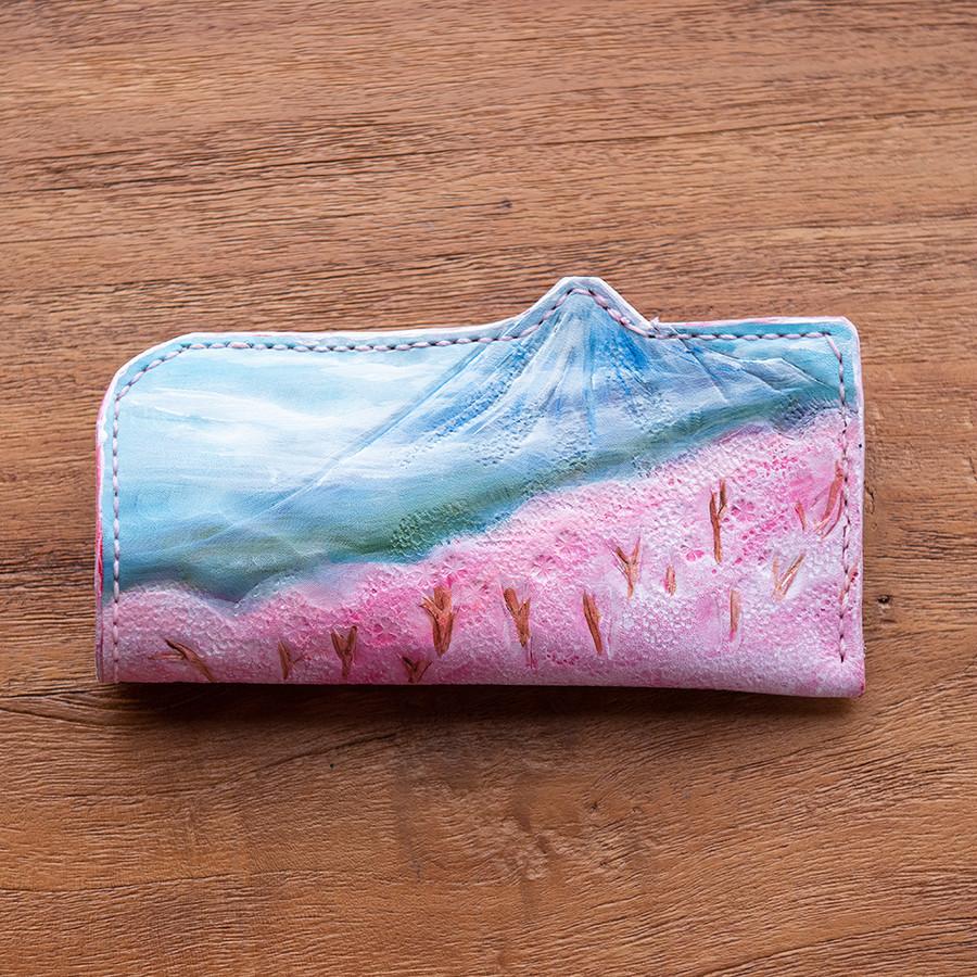 ピンク(春の富士)