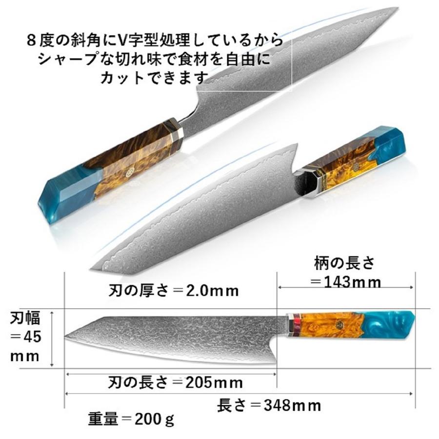 肉・魚・野菜となんでも切れる万能包丁 なかでも肉や魚を切るのに最適です